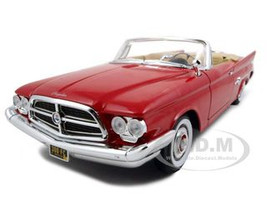 1960 Chrysler 300F Red 1/18 Diecast Car model Road Signature 92748