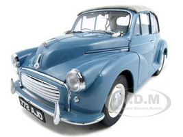 1960 Morris Minor Open Convertible Clipper Blue 1 of 1500 Produced 1/12 Diecast Model Car Sunstar 4772