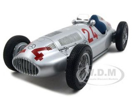1939 Mercedes W 165 #24 Grand Prix of Tripolis 1 of 5000 Produced 1/18 Diecast Car Model CMC 074