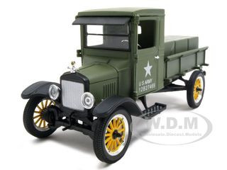 1923 Ford Model TT Military Diecast Car Model Army Green 1/32 Diecast Model Car Signature Models 32521