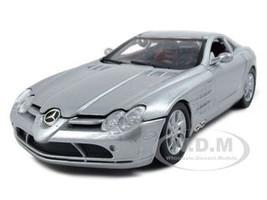 Mercedes Mclaren SLR Silver 1/24 Diecast Model Car Motormax 73306
