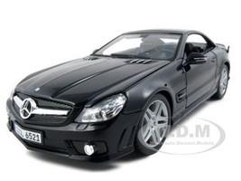 2010 2011 Mercedes SL65 SL 65 Coupe AMG Black 1/18 Diecast Model Car Maisto 36193