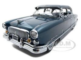 1952 Nash Ambassador Airflyte With Kit Blue Platinum Edition 1/18 Diecast Car Model Sunstar 5114