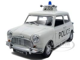 1968 Mini Cooper S Police Mini 50th Anniversary Edition 1/18 Diecast Car Model Kyosho 08104