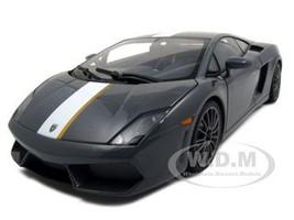 Lamborghini Gallardo LP550-2 Valentino Balboni Grey Grigio Telesto 1/18 Diecast Model Car Autoart 74634