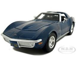 1970 Chevrolet Corvette Blue 1/24 Diecast Model Car Maisto 31202