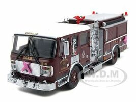 Pink Ribbon Engine 2010 San Francisco Engine 10 ALF Eagle Pumper 1 of 2004 Produced 1/64 Diecast Model Code 3 12317