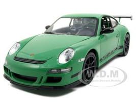 Porsche 911 997 GT3 RS Green 1/24 1/27 Diecast Model Car Welly 22495