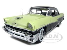 1956 Mercury Montclair Hard Top Green/Black Platinum Edition 1/18 Diecast Car Model Sunstar 5142