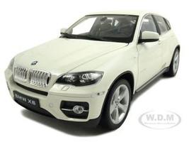 2011 2012 BMW X6 White 1/18 Diecast Car Welly 18031