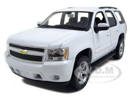 2008 Chevrolet Tahoe White Diecast Car Model 1/24 Welly 22509