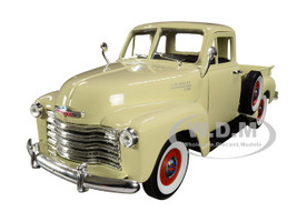 1953 Chevrolet 3100 Pickup Truck Cream 1/24 1/27 Diecast Model Car Welly 22087
