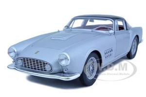 Ferrari 410 Superamerica Silver 1/18 Diecast Car Model Hotwheels T6243