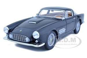 Ferrari 410 Superamerica Black 1/18 Diecast Car Model Hotwheels T6246
