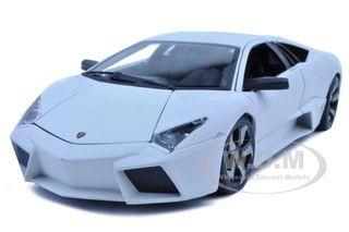 Lamborghini Reventon Matt White 1/18 Diecast Model Car Bburago 11029