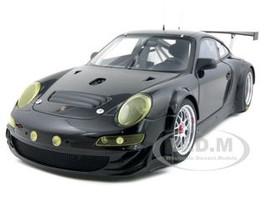 2009 Porsche 911 (997) GT3 RSR Plain Body Black Version 1/18 Diecast Car Model Autoart 80974
