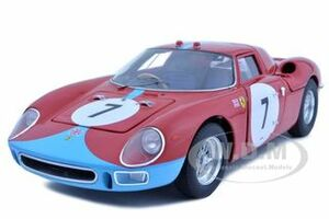 Ferrari 250 LM 12 Hours of Reims 1964 #7 Elite Edition 1/18 Diecast Car Model Hotwheels T6261