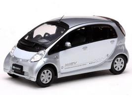 Mitsubishi i Miev White/Silver 1/43 Diecast Model Car Vitesse 29280