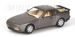 1989 Porsche 944 S2 Grey Metallic 1/43 Diecast Model Car by Minichamps