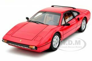 Ferrari 308 GTB Red Elite Edition 1/18 Diecast Car Model Hotwheels T6923
