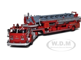 American LeFrance ALF 900 Series Red San Francisco Fire Truck 4 1/64 Diecast Model Code 3 13055