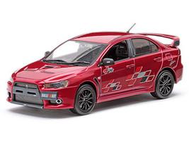 Mitsubishi Lancer Evolution X 10 Ralliart Metallic Red 1/43 Vitesse 29243