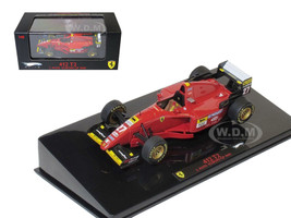 Ferrari 412 T2 #27 J.Alesi Europe GP 1995 Elite Edition 1/43 Diecast Model Car Hotwheels T6286