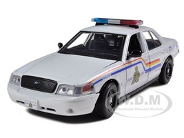 2010 Ford Crown Victoria Royal Canadian Police Car 1/24 Diecast Model Motormax 76483