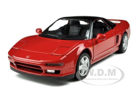 1990 Honda NSX Red Diecast Car Model 1/18 20th Anniversary Edition by Kyosho