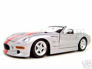 1999 Shelby Series 1 Silver 1:18 Diecast Model Car Bburago 33239