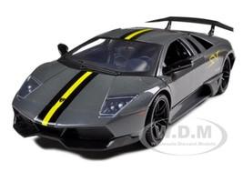 Lamborghini Murcielago LP 670 4 SV Grey Diecast Model Car 1/24 Motormax 73350