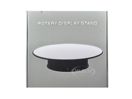 "Rotary Display Stand 12"" For 1/18 1/24 1/64 1/43 Model Cars With Mirror Top Diecast Models Wholesale 88012"