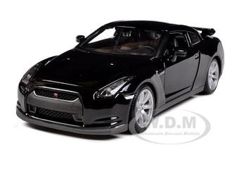 2009 Nissan GT-R R35 Black 1/24 Diecast Model Car Maisto 31294