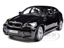 2011 2012 BMW X6M Black 1/18 Diecast Car Model Bburago 12081