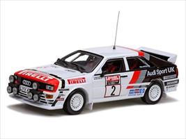 Audi Quattro #2 H.Mikkola/A.Hertz 1982 Winner Scottish Rally 1/43 by Vitesse