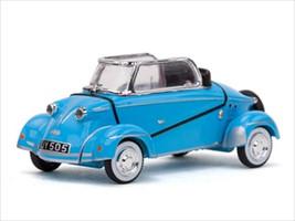 """1959 Messerschmitt """"Tiger"""" TG500 Blue 1/43 Diecast Car Model Vitesse 29002"""
