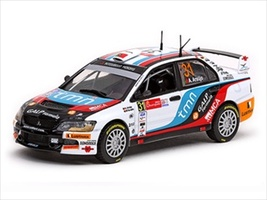 Mitsubishi Lancer IX #31 A.Araujo/M.Ramalho 2010 Rally Mexico Winner 1/43 Diecast Model Car Vitesse 43406