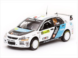 Mitsubishi Lancer IX #50 A.Araujo/M.Ramalho PWRC Acropolis Rally of Greece 2008 1/43 Diecast Car Model Vitesse 43407