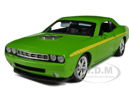 Plymouth Cuda Concept Sublime Green 1/18 Diecast Car Model Highway 61 50840