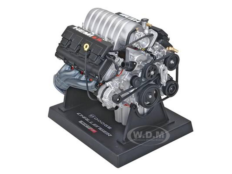 Dodge Challenger 6.1L SRT8 Engine Model 1/6 Model Liberty Classics 84033
