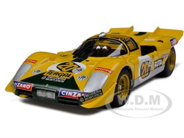 Ferrari 512 S #20 Yellow 1000 Kilometres of Buenos Aires 1971 Elite Edition 1/18 Diecast Model Car Hotwheels T6929