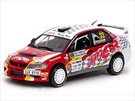Mitsubishi Lancer IX #33 M.Procop/J.Tomahnek Rally New Zealand 1/43 Diecast Car Model Vitesse 43411