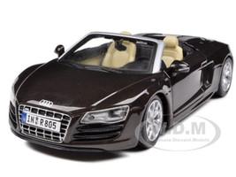 2011 Audi R8 Spyder Brown 1/24 Diecast Model Car Maisto 31204
