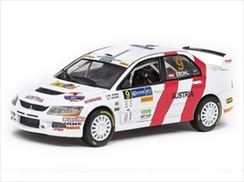 Mitsubishi Lancer Evolution IX #9 M.Stohl/I.Minor Winner Rally of Nations Mexico 2009 1/43 Diecast Model Car Vitesse 43413