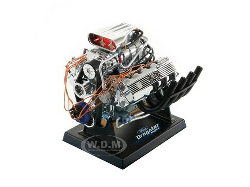 Ford Top Fuel Dragster 427 SOHC Supercharged Engine Model 1/6 Model Liberty Classics 84029