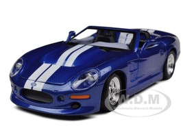 1999 Shelby Series 1 Blue 1/24 Diecast Model Car Maisto 31277