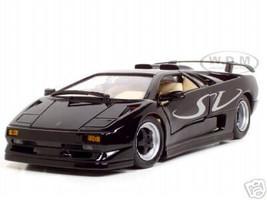 Lamborghini Diablo SV Black 1/18 Diecast Model Car Maisto 31844