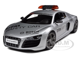 Audi R8 V10 5.2FSi Quattro 2010 DTM Safety Car 1/18 Diecast Model Car Kyosho 09216