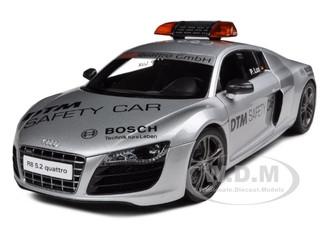 Audi R8 V10 5.2FSi Quattro 2010 DTM Safety Car 1/18 Diecast Model Car Kyosho 09216