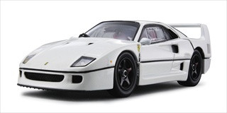 Ferrari F40 Light Weight Pearl White 20th Anniversary 1/43 by Kyosho